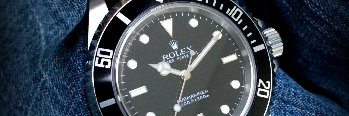 Rolex Submariner nodate 14060m